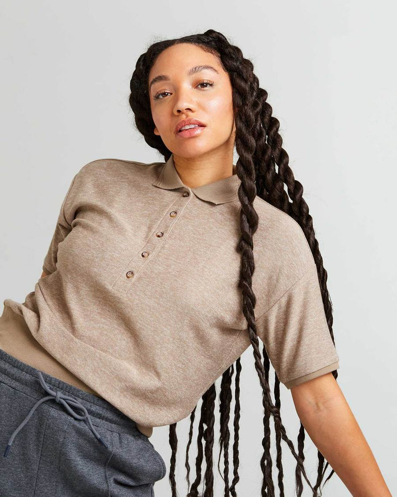 Richer Poorer - Women's Cozy Knit SS Polo