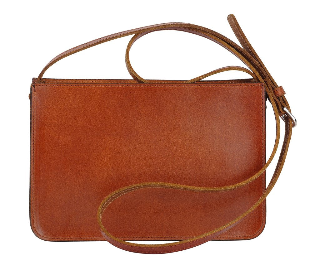Most Wanted - The Rectangle Crossbody Tan