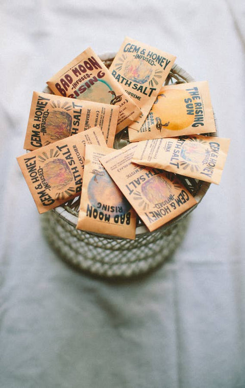 Wild Yonder Botanicals - Bath Salt Packets TWILIGHT