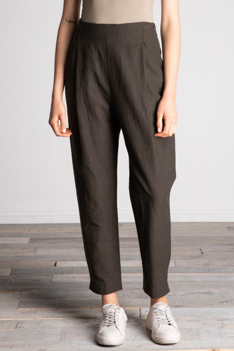 Grade & Gather - Linen Blend Pleated Pants