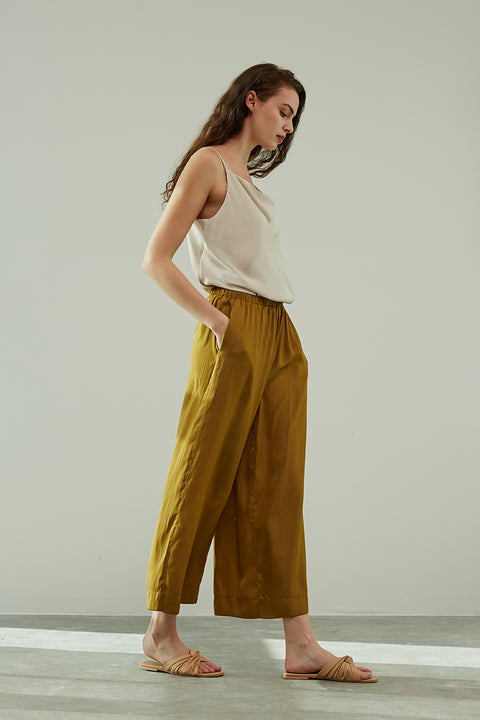 Grade & Gather - Satin Wide Leg Pant