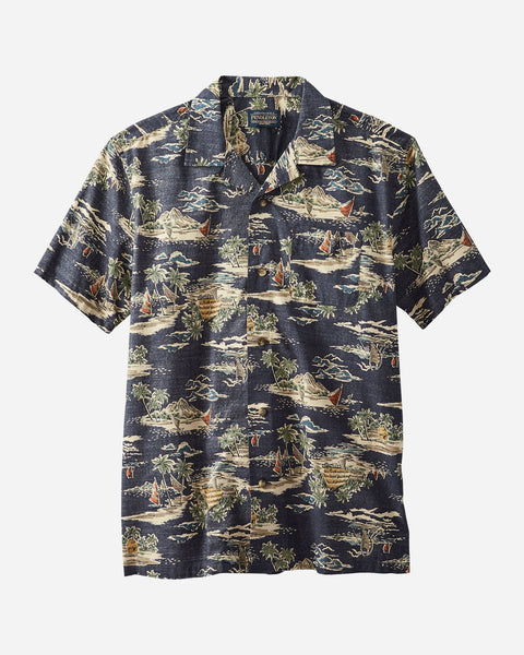 Pendleton - Aloha S/S Tropical Village Shirt
