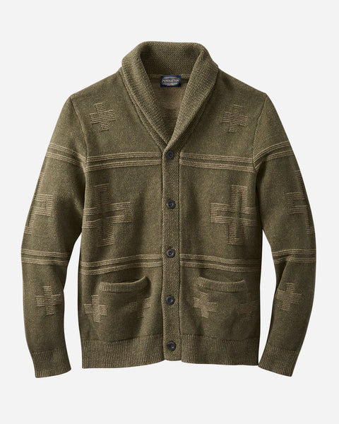 Pendleton - Cross Motif Cardigan