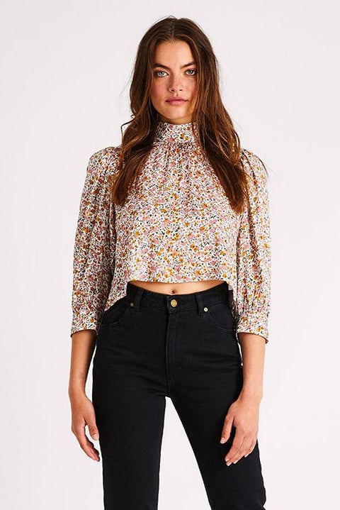 Rollas - Stephanie Coast Floral Blouse