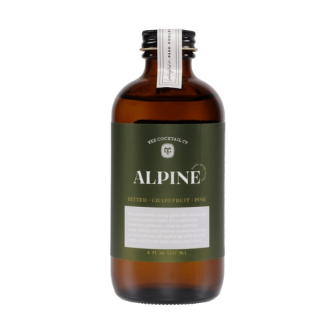 Yes Cocktail Co - Alpine Tonic Syrup