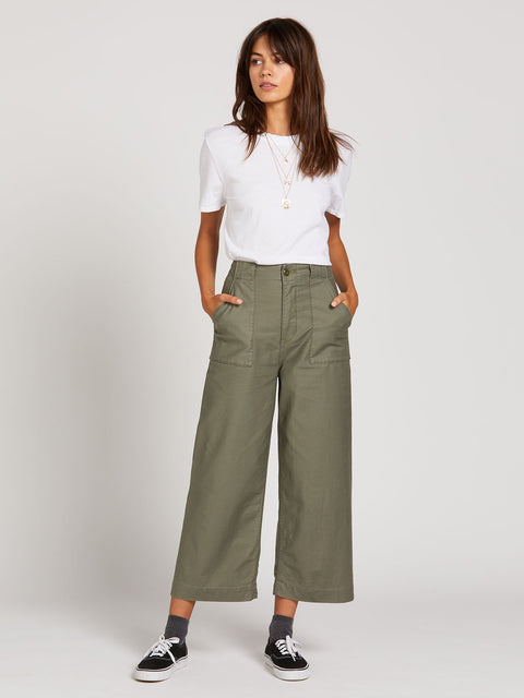 Volcom - Army Whaler Wide Leg Pant