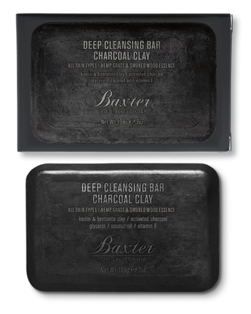 Baxter - 3 In One Deep Cleansing Charcoal Clay Bar
