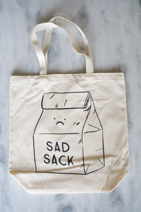 Stay Home Club - Sad Sack Tote Bag