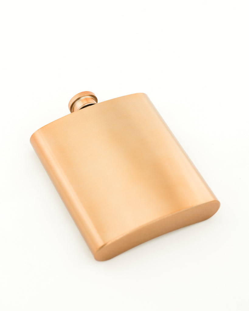 W & P Design - Copper Flask 7oz.