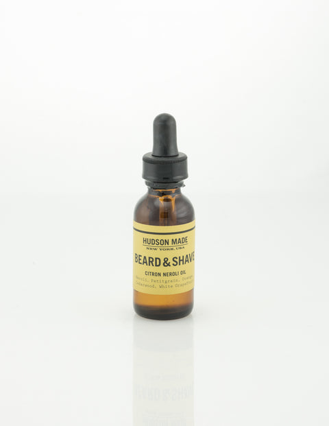Hudson Made - Beard and Shave Oil - Citron