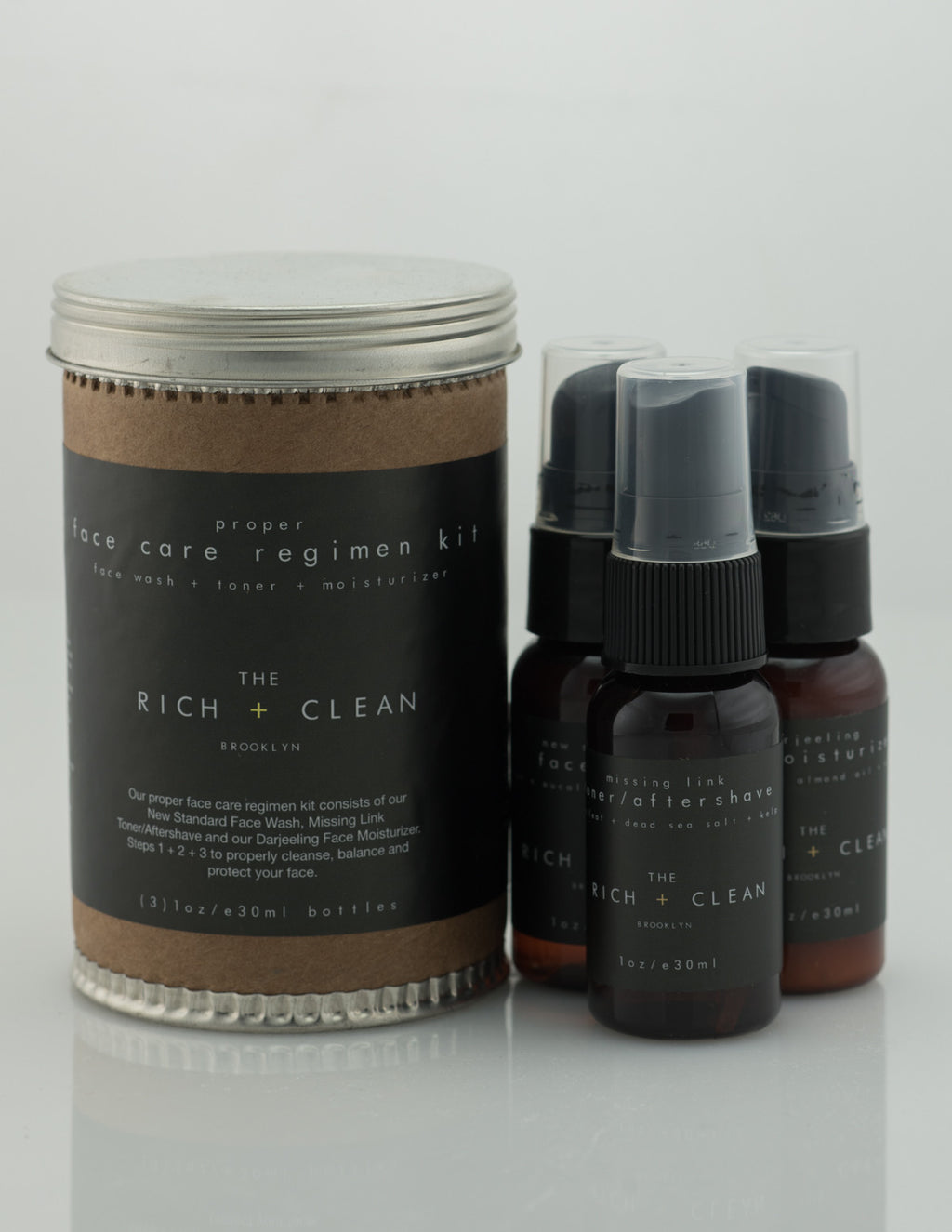 Rich & Clean - Face Care Regimen Kit