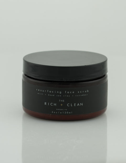 Rich & Clean - Resurfacing Face Scrub