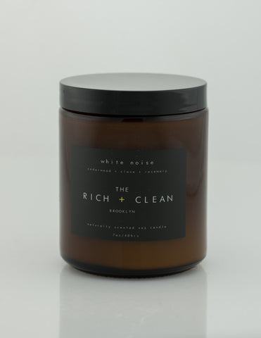 Rich & Clean - White Noise 7oz Candle