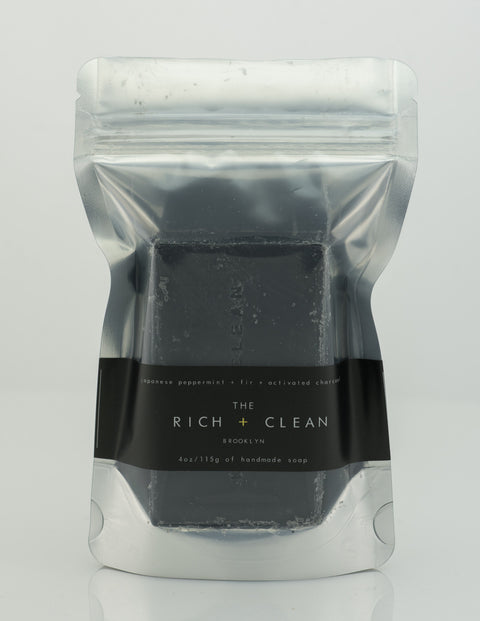 Rich & Clean - Japanese Peppermint Soap Bar