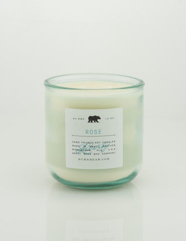 Great Bear Wax Co - Rose 10oz Candle