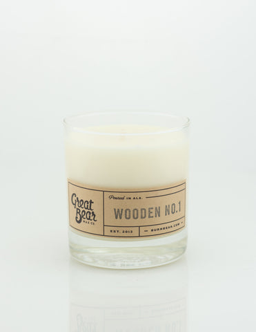Great Bear Wax Co - Wooden No.1 11.5oz Candle