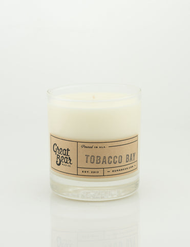 Great Bear Wax Co - Tobacco Bay 11.5oz Candle