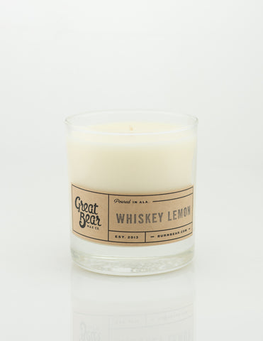 Great Bear Wax Co - Whiskey Lemon 11.5oz Candle