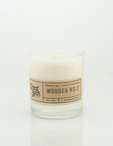 Great Bear Wax Co - Wooden No.2 11.5oz Candle