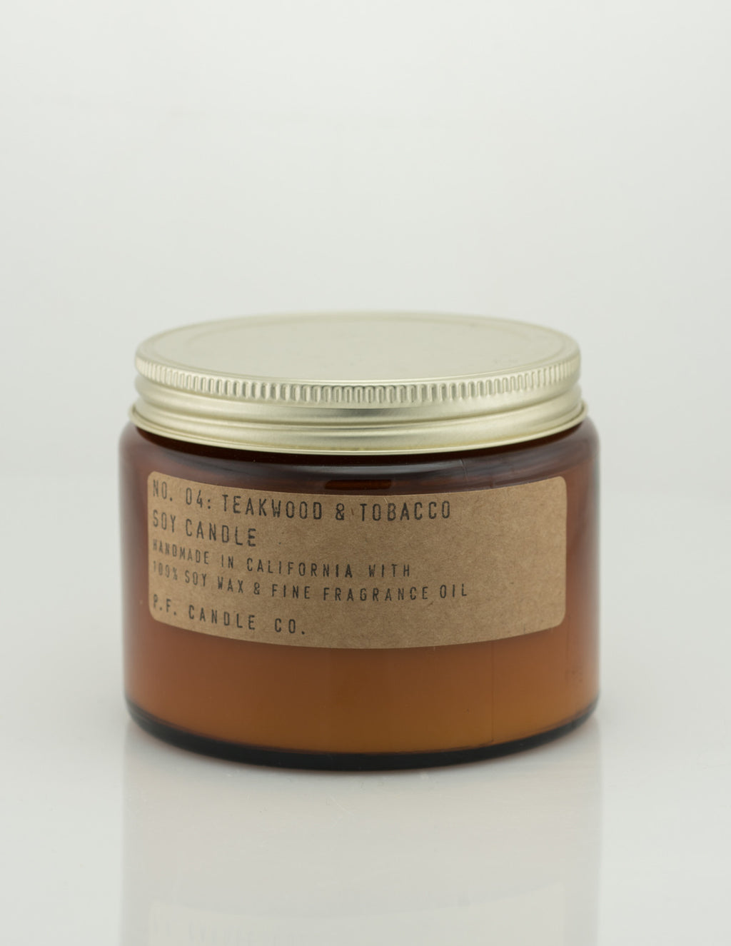 Pf Candle Co - Teakwood And Tobacco 14oz Candle