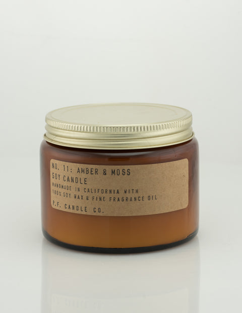Pf Candle Co - Amber And Moss 14oz Candle