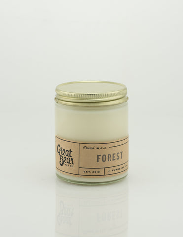 Great Bear Wax Co - Forest 6oz Candle