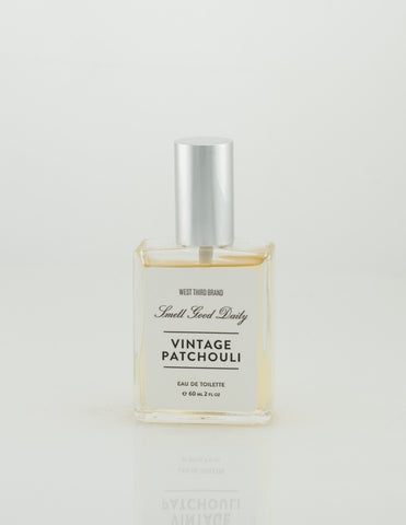 West Third Brand - Vintage Patchouli Eau De Toilette