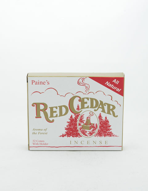 Paine's - Red Cedar Incense Cones 32pc