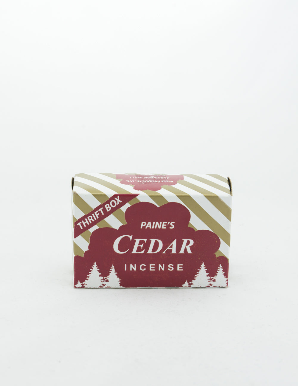 Paine's - Red Cedar Incense Thrift Box
