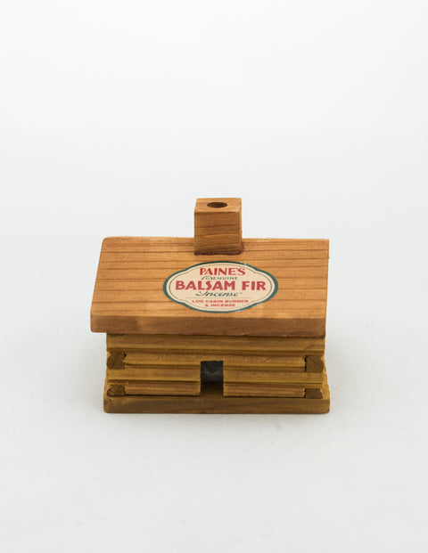 Paines - Log Cabin Burner w/ Incense