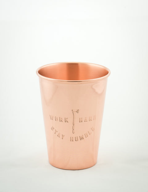 United By Blue - Work Hard Copper Tumbler 16oz