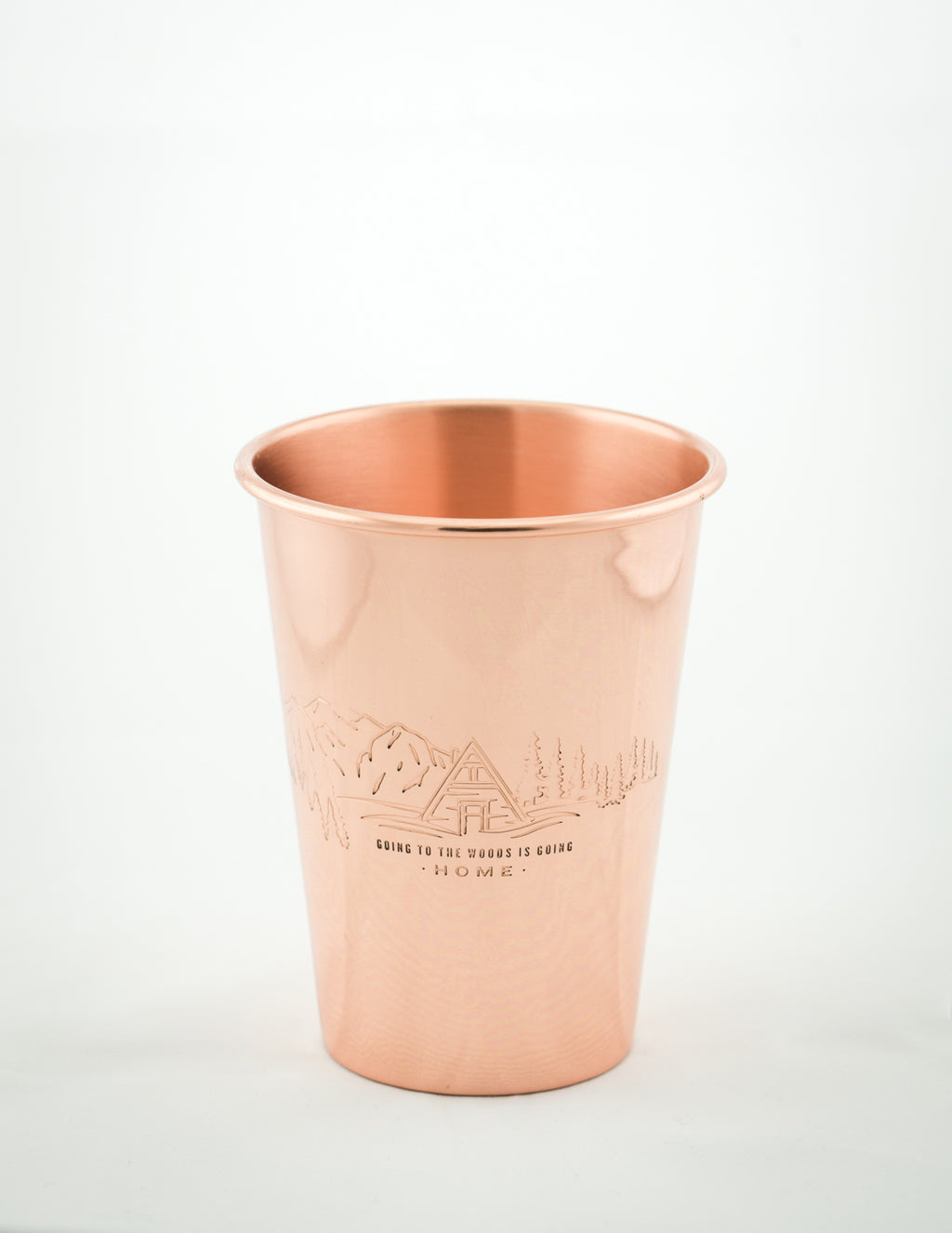 United By Blue - To The Woods Copper Tumbler 16 oz
