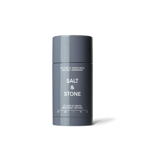 Salt & Stone - Vetiver + Sandalwood Natural Deodorant