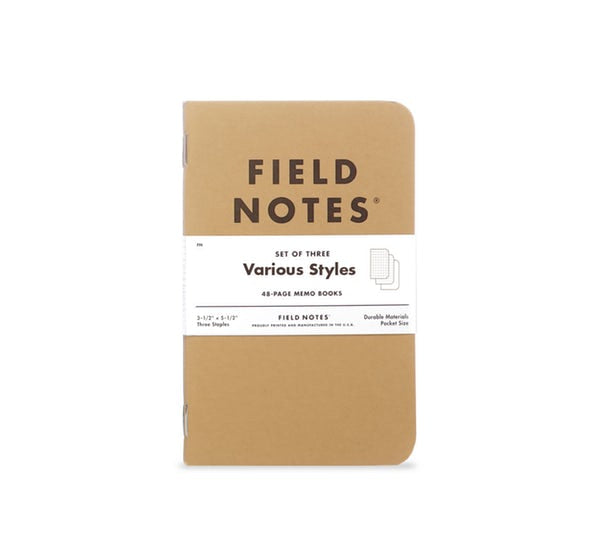 Field Notes - Original Kraft Mixed 3-Pack
