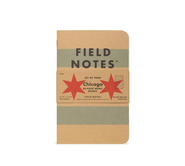 Field Notes - Chicago 3-Pack