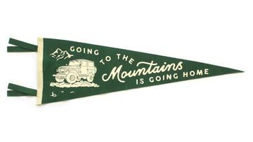 Oxford Pennant - Going to the Mountains