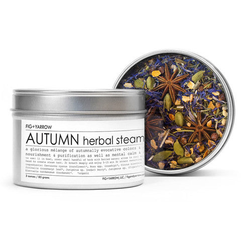 Fig and Yarrow - Autumn Herbal Steam