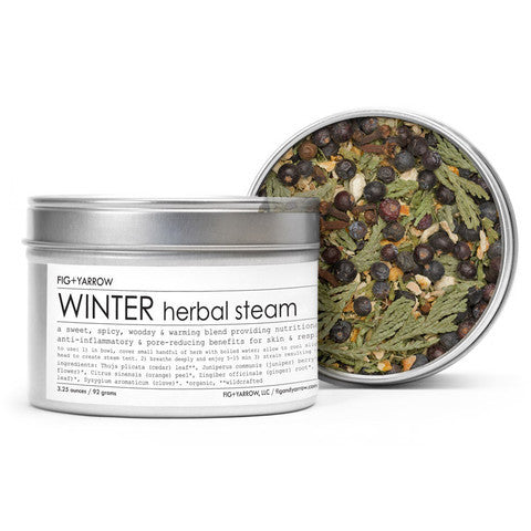 Fig and Yarrow - Winter Herbal Steam
