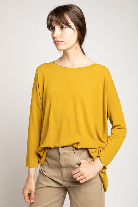 Grade & Gather - Rib Tunic Top