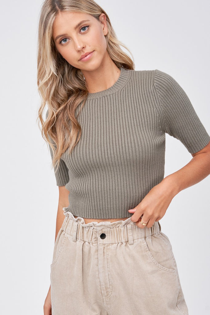 Emory Park - SS Ribbed Top