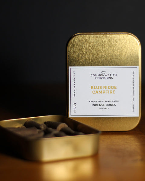 Commonwealth Provisions - Blue Ridge Campfire Incense