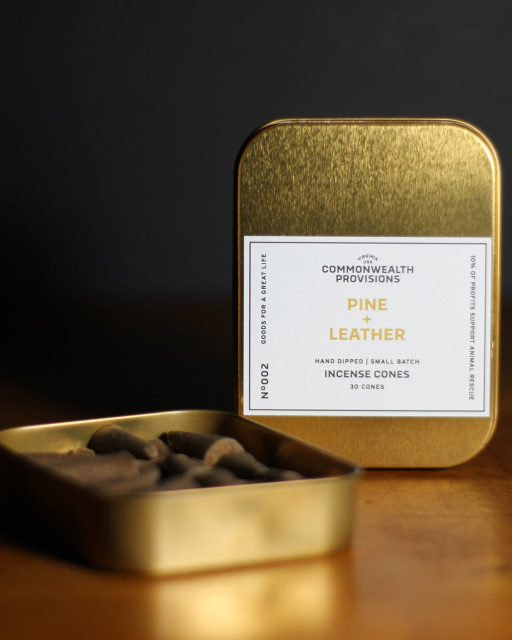 Commonwealth Provisions - Pine Leather Incense