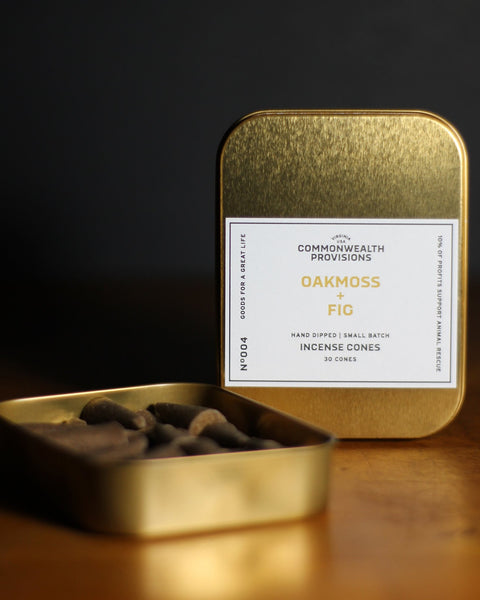 Commonwealth Provisions - Oakmoss Fig Incense