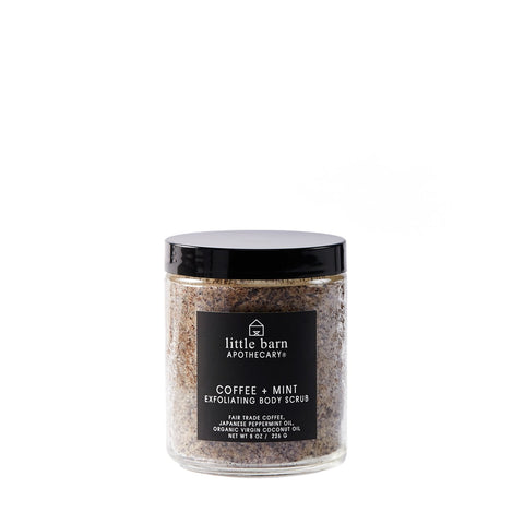 Little Barn Apothecary - Coffee + Mint Body Scrub