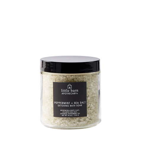 Little Barn Apothecary - Peppermint Sea Salt Bath Soak
