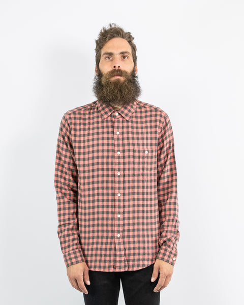 Normal Brand - Stephen Gingham Shirt (2 Colors Available)
