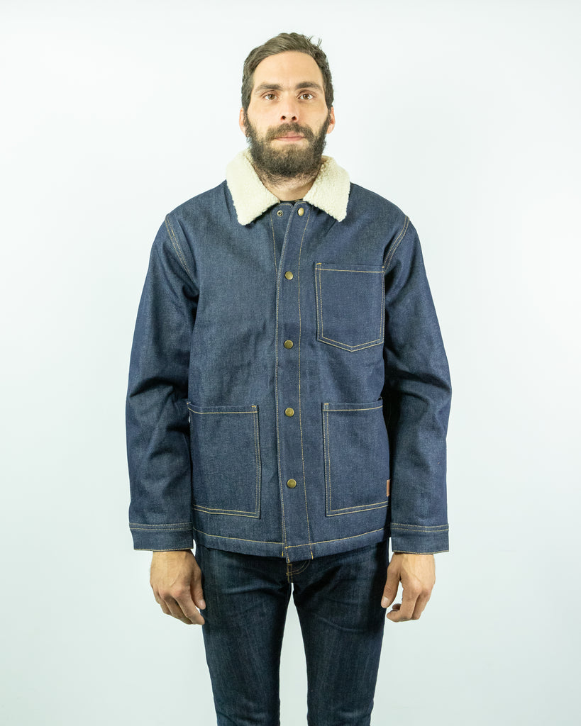 Brixton - Yard Sherpa Denim Jacket