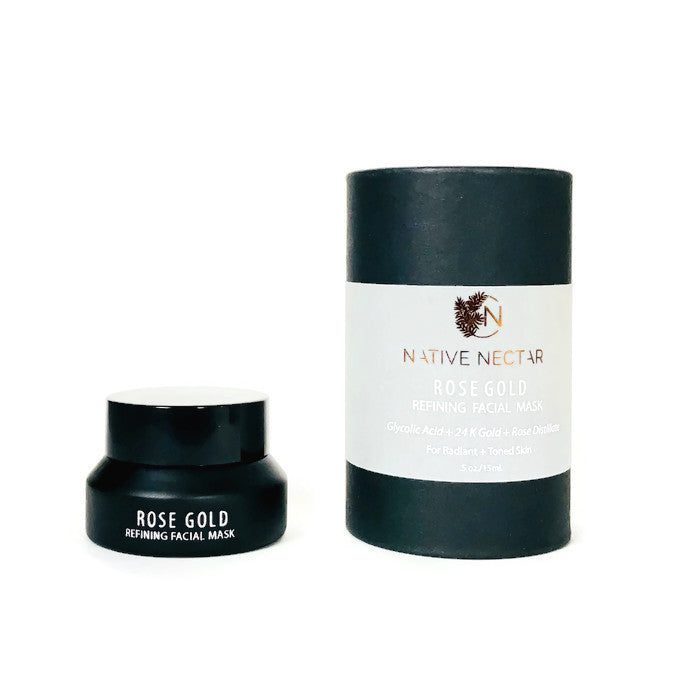 Native Nectar - Rose Gold Refining Face Mask
