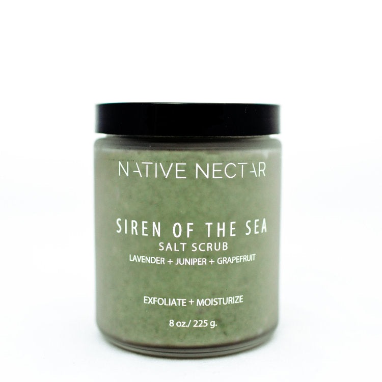 Native Nectar - Siren of The Sea Salt Scrub