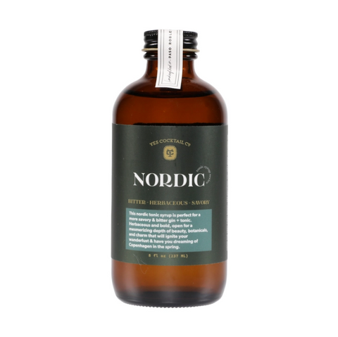 Yes Cocktail Co - Nordic Tonic Syrup